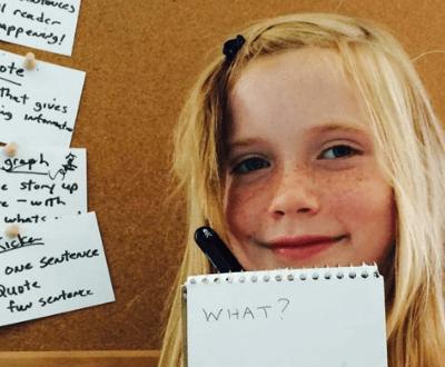 Journalism 101 – Wednesdays 2:00-2:45 PM (Grades 3-4)